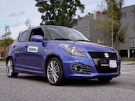 Test Suzuki Swift Sport 5dv