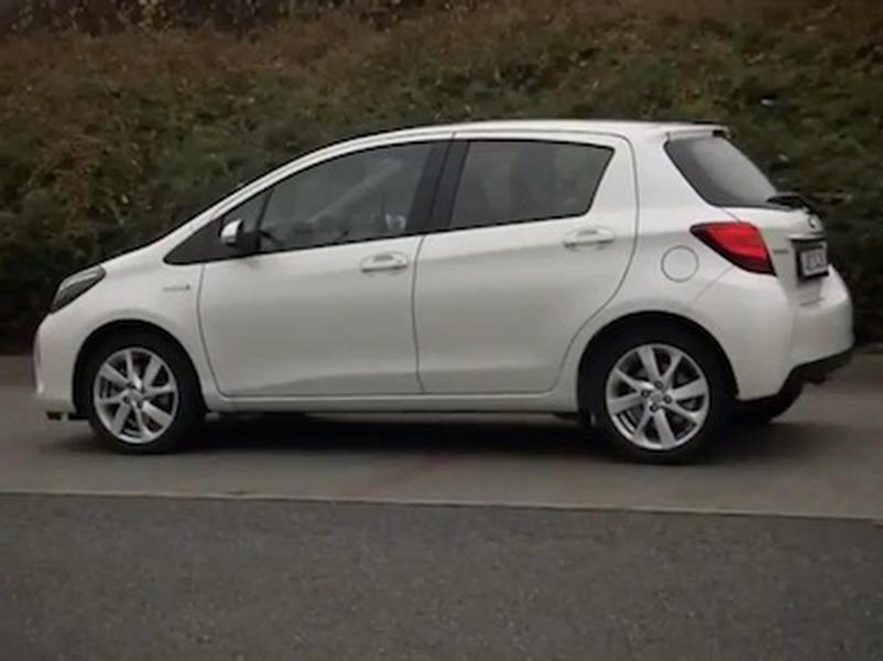 Video test Toyota Yaris Hybrid