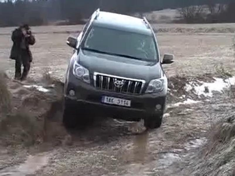 Video test Toyota Land Cruiser
