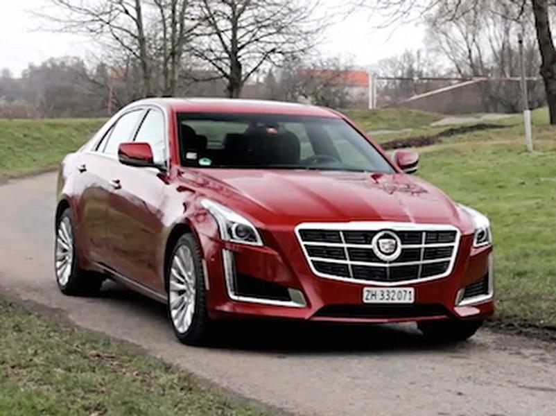 Video test Cadillac CTS 2.0T