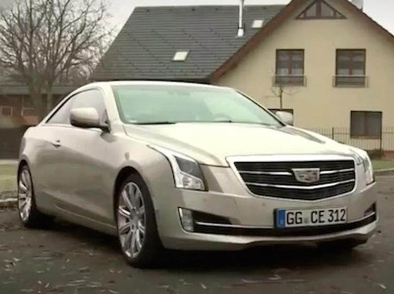 Video test Cadillac ATS 2,0T Coupe