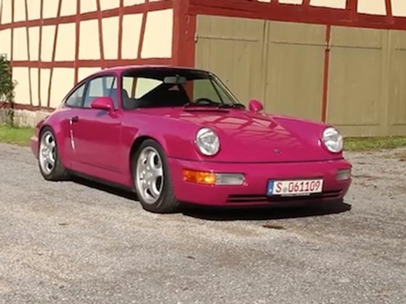Video test Porsche 911 Carrera RS