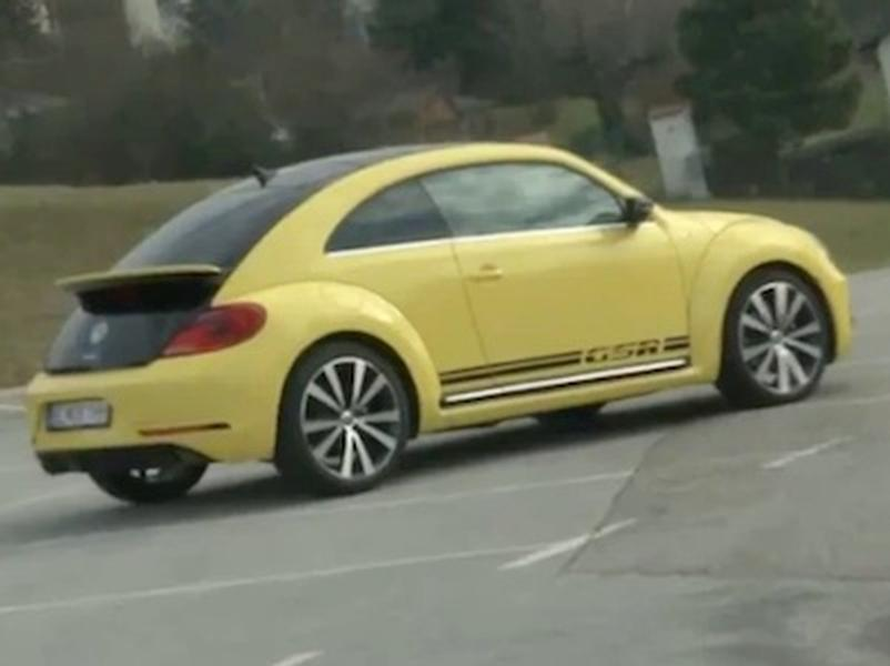 Video test Volkswagen Beetle GSR 2.0