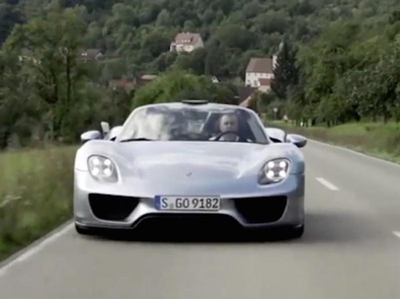 Video test Porsche 918 Spyder