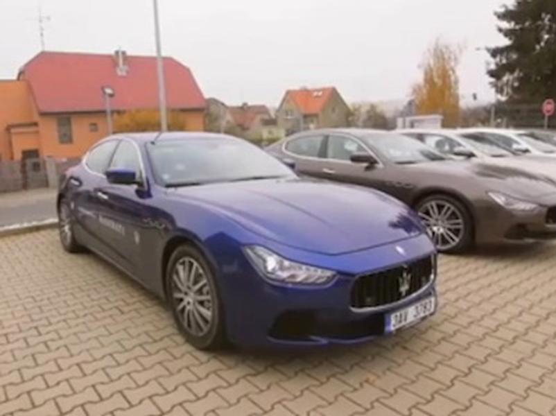 Video test Maserati Ghibli