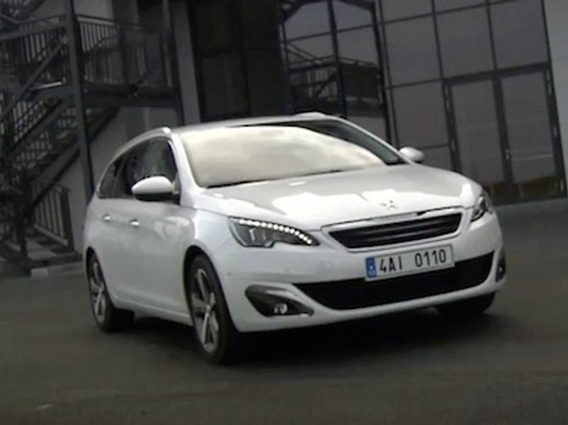 Video test Peugeot 308 SW 1.2 AT