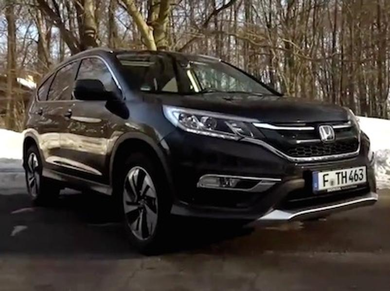 Video test Honda CRV 1.6 i-DTEC biturbo