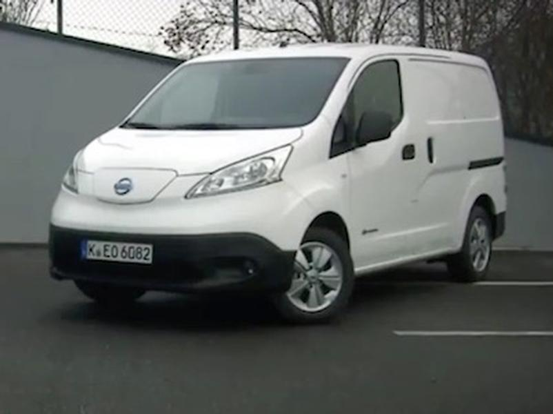 Video test Nissan E-NV200