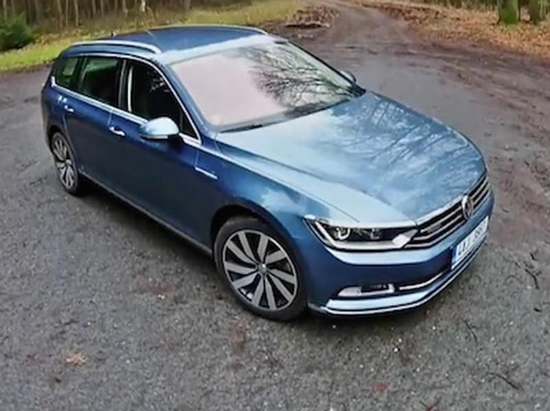 Video test Volkswagen Passat Variant 2,0 BiTDI 4Motion
