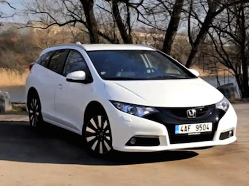 Test Honda Civic Tourer 1.8 i-VTEC