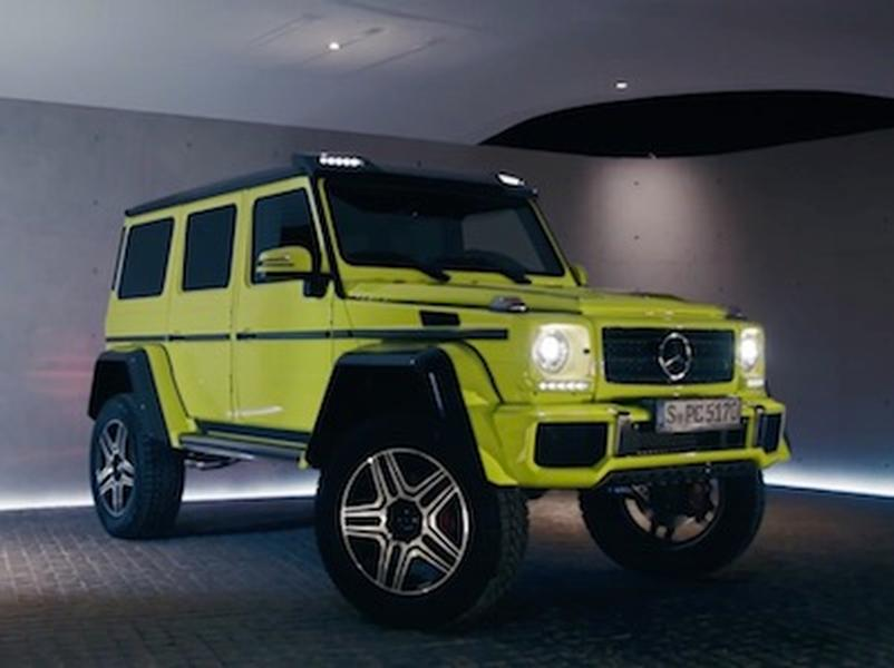 Video test Mercedes Benz G 500 4x4²