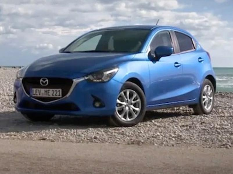 Video test Mazda 2 1,5 Skyactiv