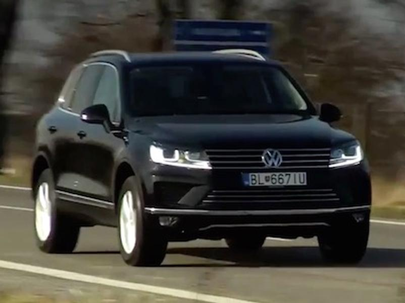 Video test VW Touareg 3.0 V6 TDI