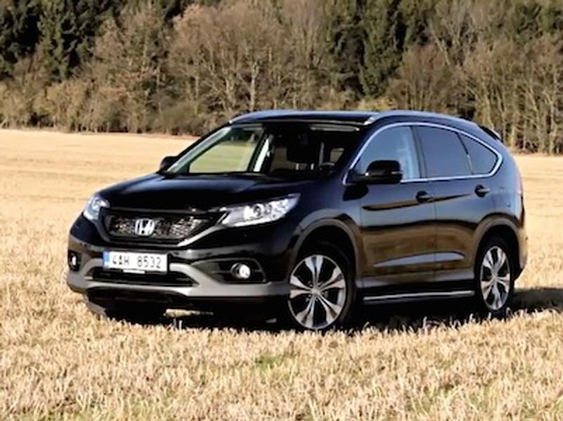 Video test Honda CR-V 2,2 iDTEC