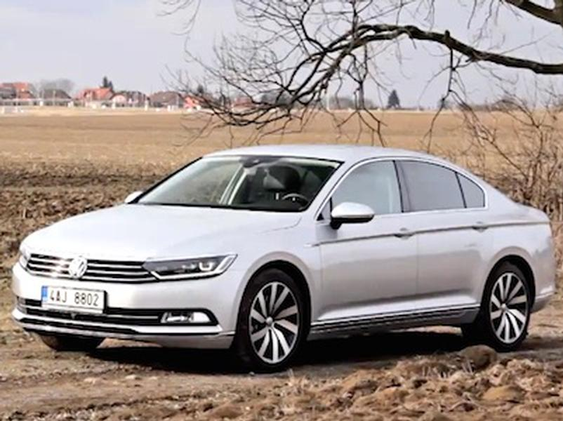 Video test Volkswagen Passat 2.0 TDI 4Motion