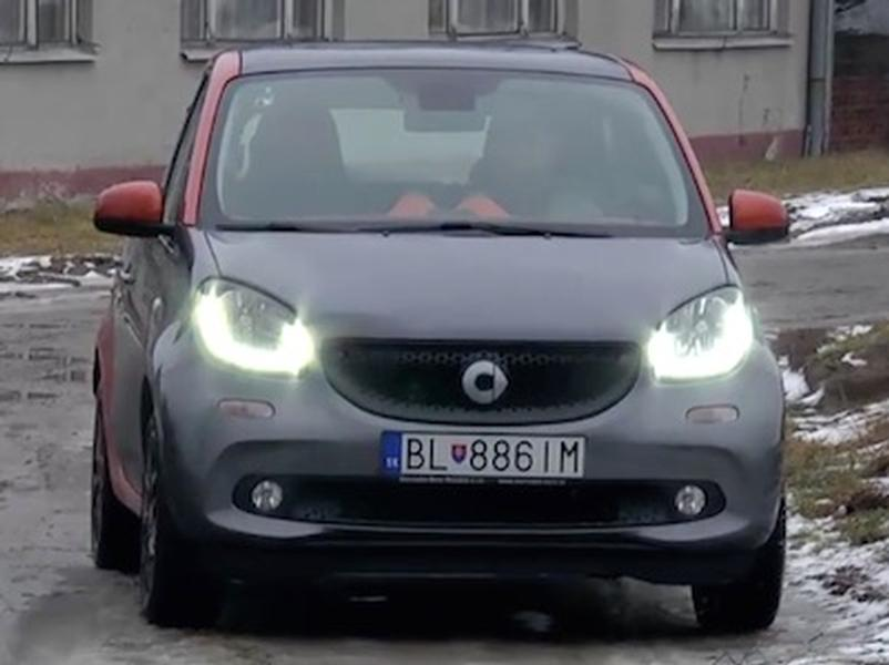 Test Smart Forfour