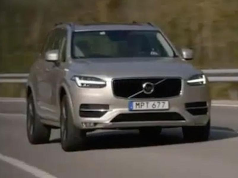 Video test Volvo XC90 D5 AWD