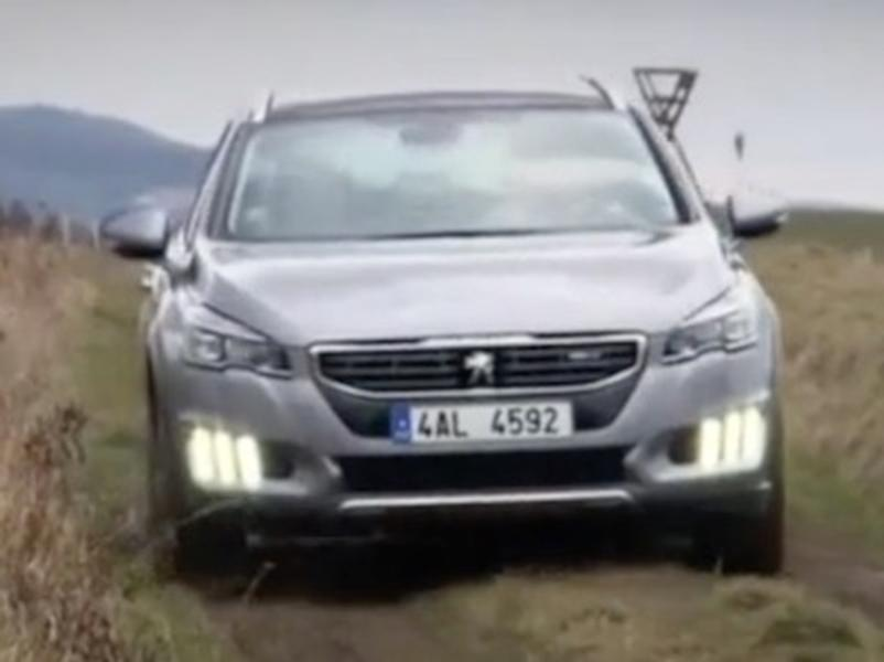 Video test Peugeot 508 RXH 2.0 BlueHDI AT