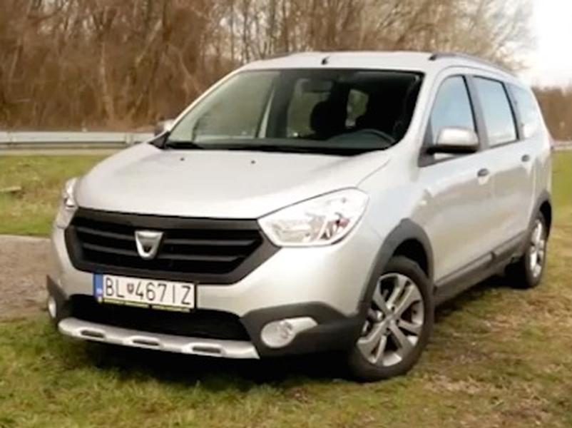 Video test Dacia Lodgy Stepway 1.5 dCi
