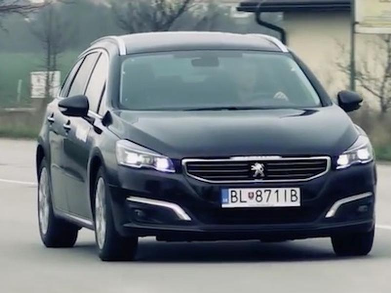 Video test Peugeot 508 SW 2.0 BlueHDi
