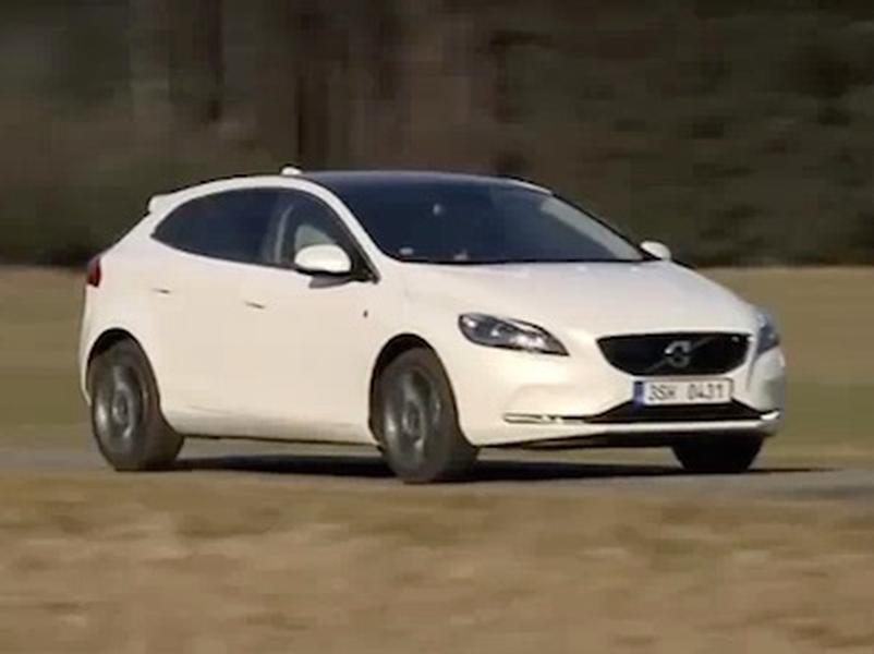 Video test Volvo V40 D4 DRIVE-E Ocean Race