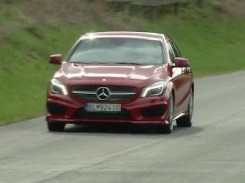 Video test Mercedes-Benz CLA Shooting Brake 220 CDI