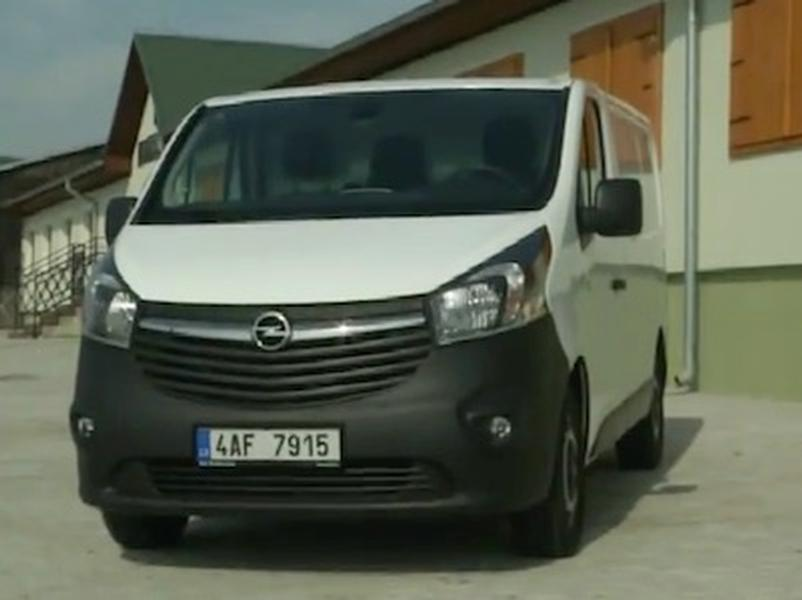 Video test Opel Vivaro 1,6 CDTI