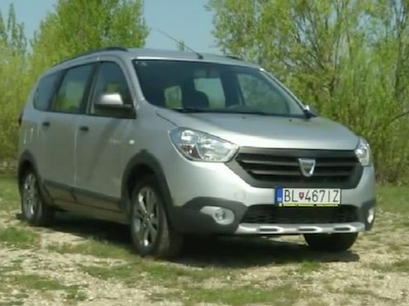 Video test Dacia Lodgy Stepway 1,5 dCi