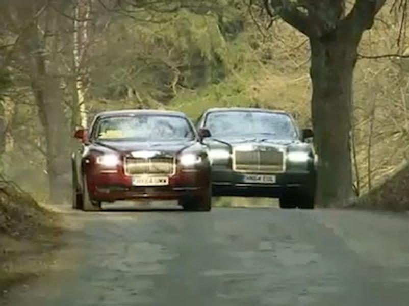 Video test Rolls Royce Wraith vs Rolls Royce Phantom Coupe