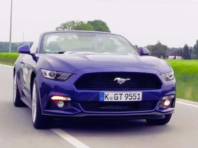 Video test Ford Mustang Cabrio 2,3 EcoBoost