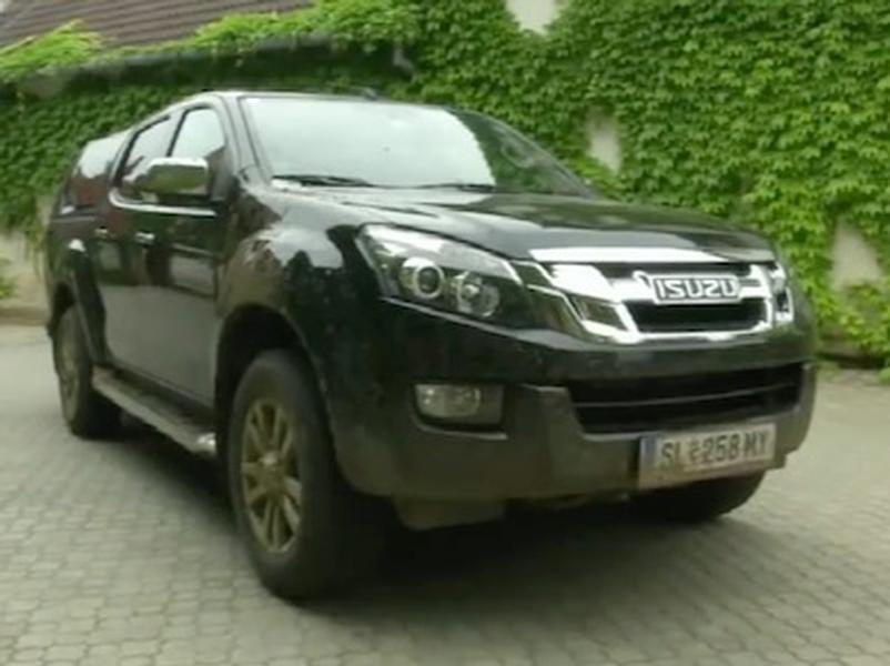 Video test ISUZU D-MAX 2,5 TD