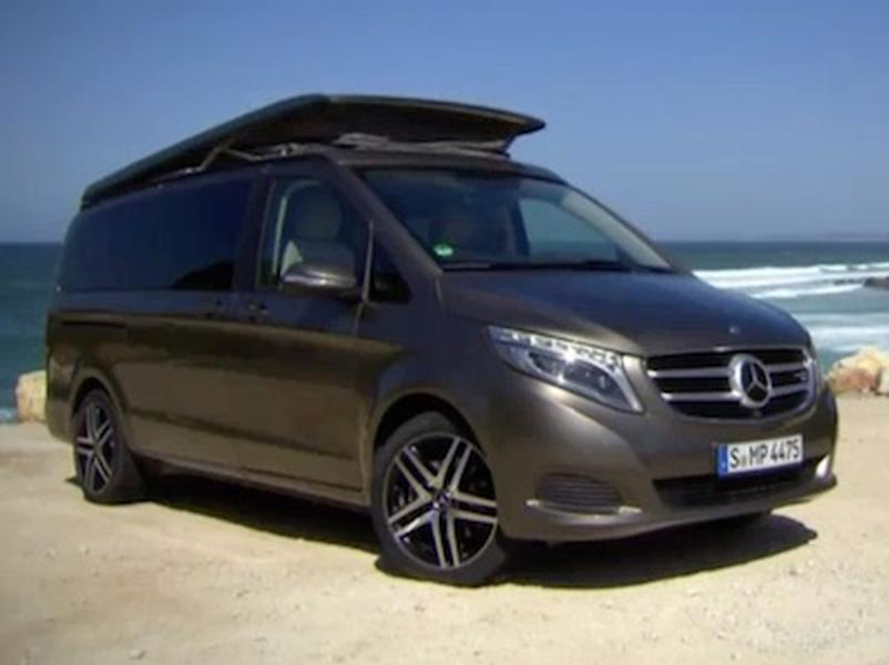 Video test Mercedes Marco Polo 250 BlueTec