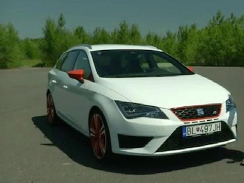 Video test Seat Leon Cupra ST