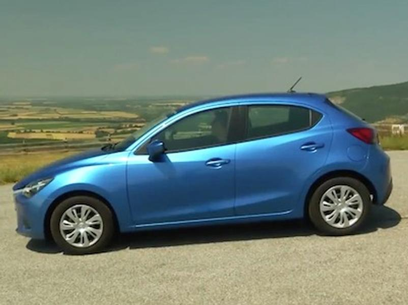 Video test Mazda 2 1,5 SkyActiv G