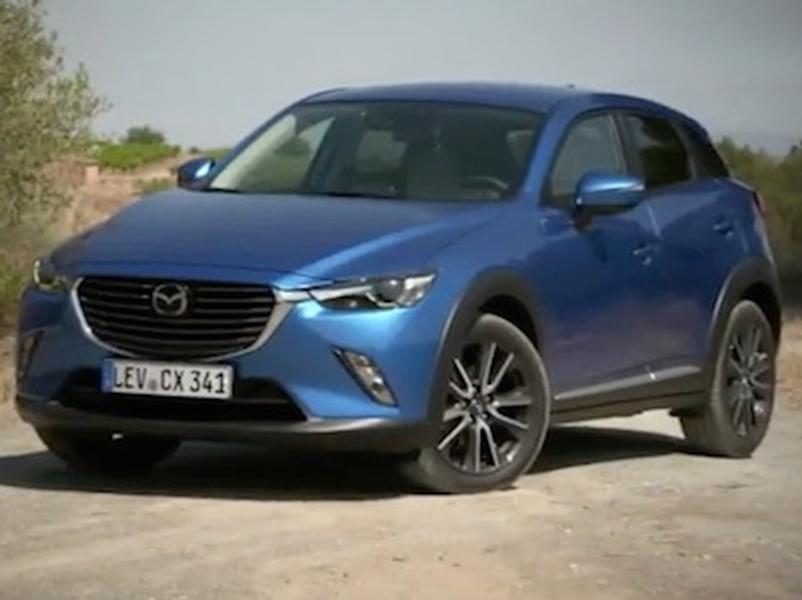 Video test Mazda CX3 2.0 SkyActiv G150 AWD