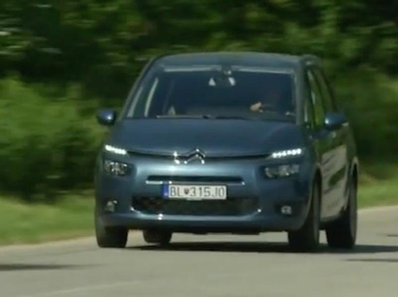 Video test Citroën C4 GRAND PICASSO