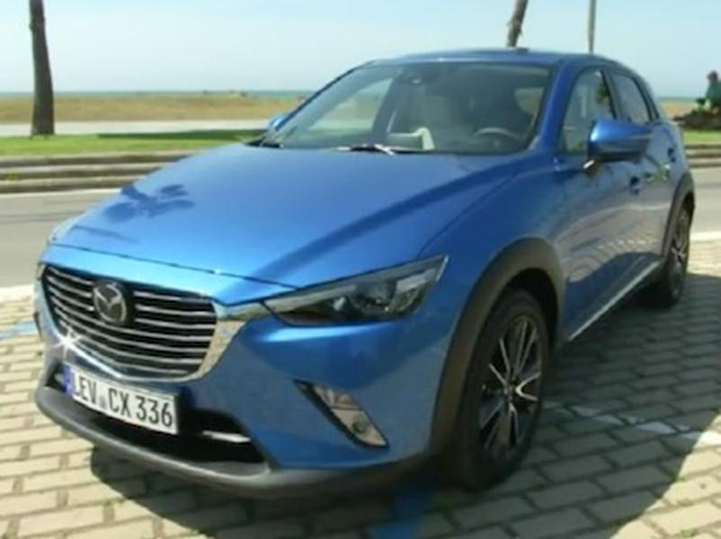 Video test Mazda CX-3 AWD