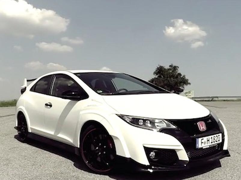 Video test Honda Civic Type R