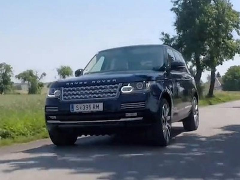 Video test Range Rover Hybrid