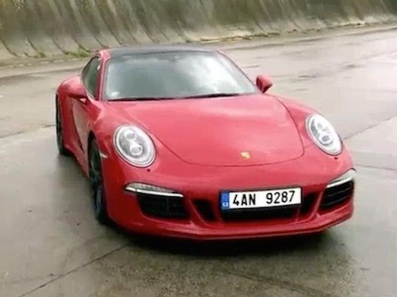 Video test Porsche 911 Carrera 4 GTS PDK