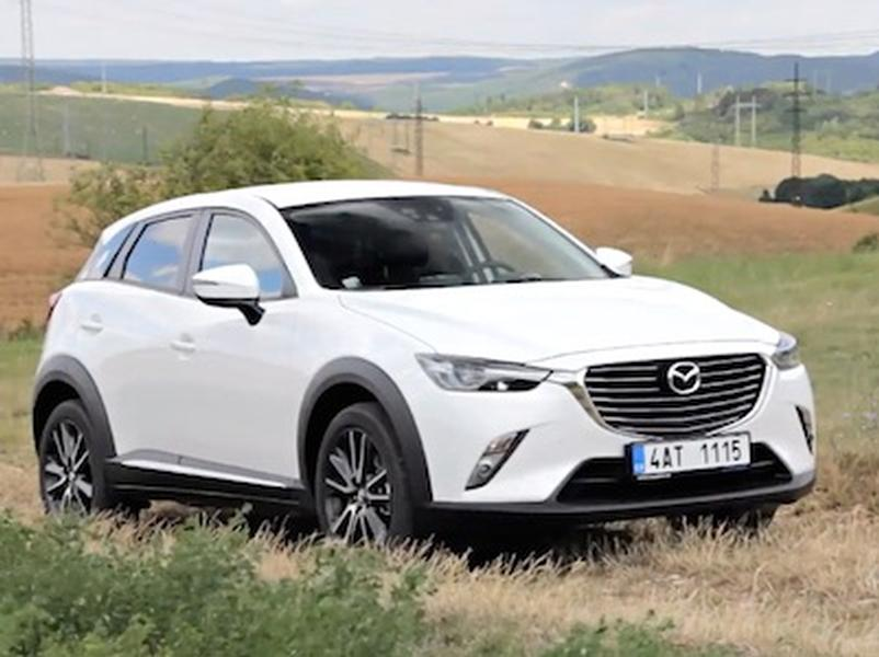 Video test Mazda CX3 AWD