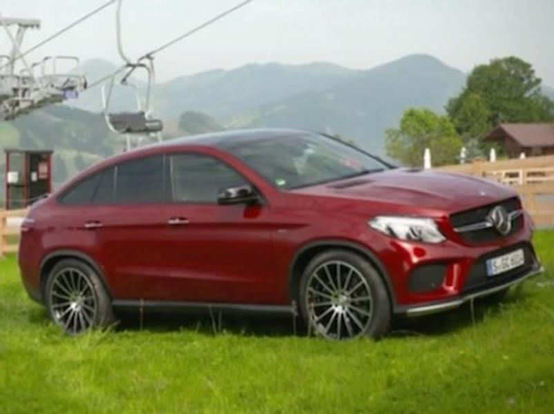 Test Mercedes Benz GLE 450 AMG 4Matic Coupe