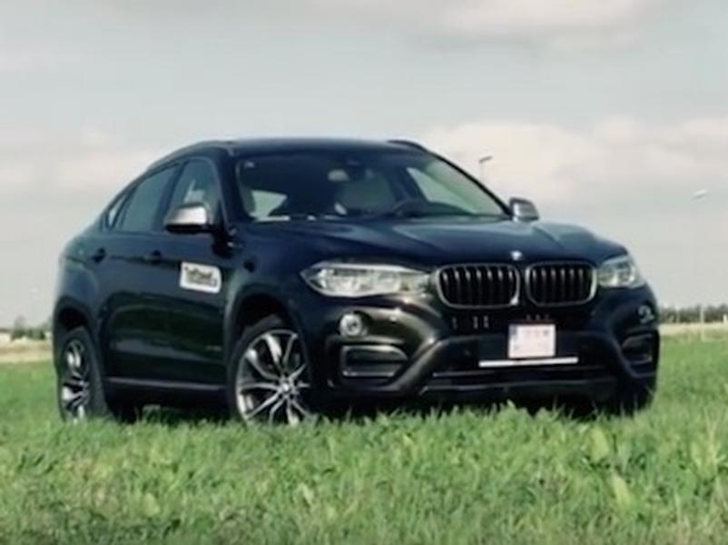 Video test BMW X6 3.0d