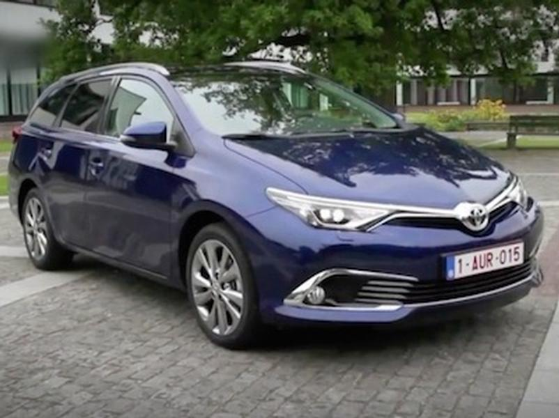Video test Toyota Auris Touring 1.6 D-4D