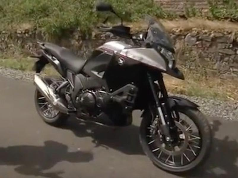 Video test Honda VFR 1200 Crosstourer