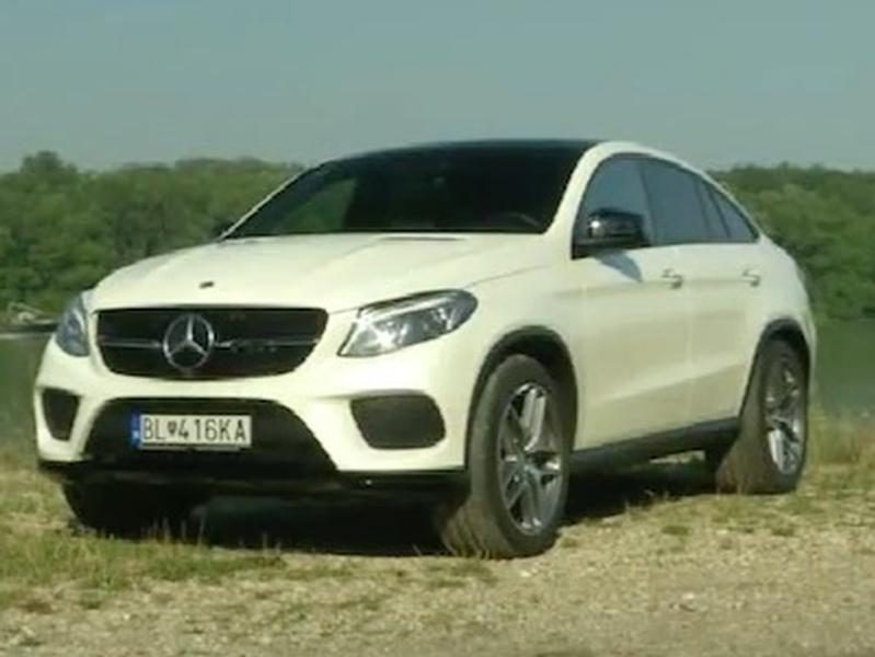 Test Mercedes-Benz GLE 350 Coupe