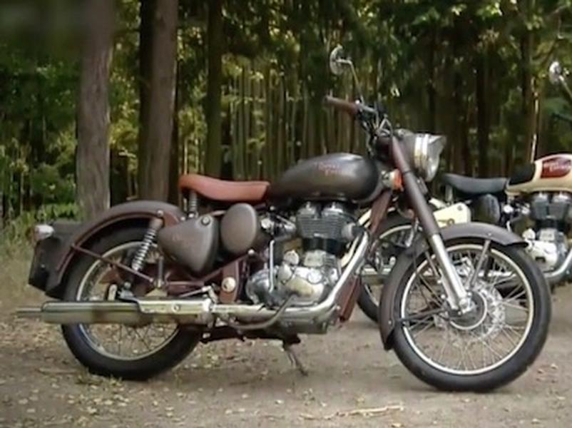 Video test Royal Enfield Bullet Classic