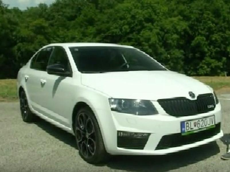 Test Škoda Octavia RS 230