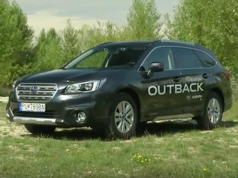 Video test Subaru Outback 2.0 D