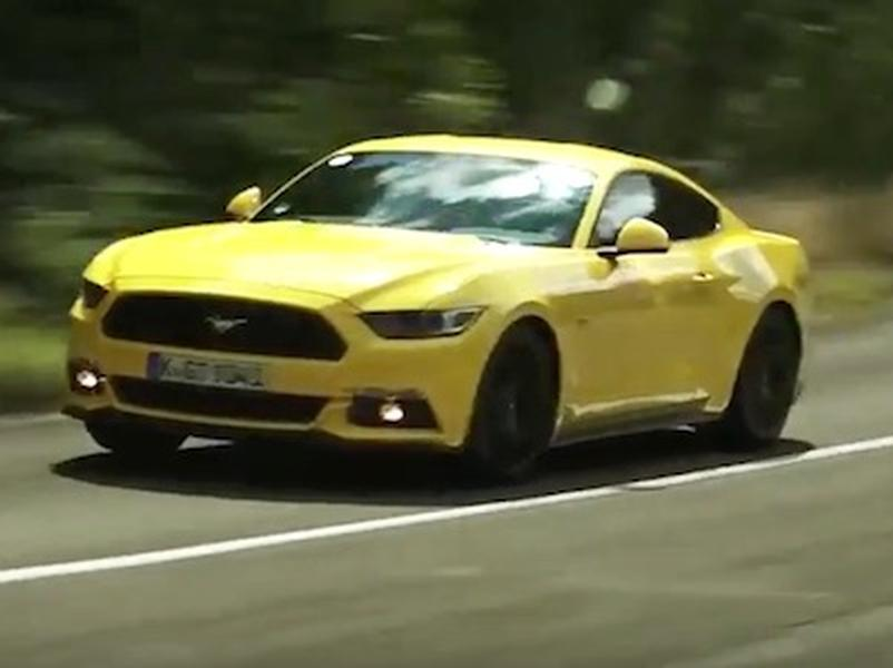 Video test Ford Mustang GT V8 5.0